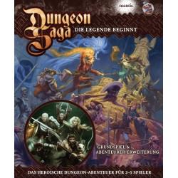 Dungeon Saga DELUXE DEUTSCH
