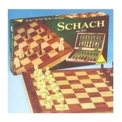 Schach Holzkassette Grosse Figuren