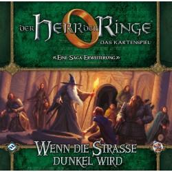 Herr der Ringe Kartenspiel Wenn die Strasse dunkel wird HDR-Saga Erweiterung 2