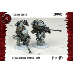 Dust Tactics SSU Steel Guard Sniper Team Silent Death DT078