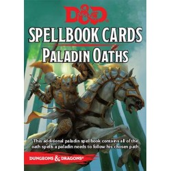 Dungeons and Dragons Paladin Oaths Deck (24 Cards)