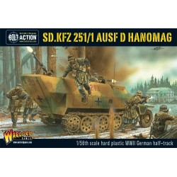 Bolt Action Sd.Kfz 251 1 Ausf.D Hanomag