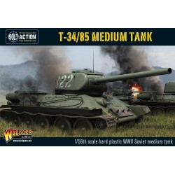 Bolt Action T34 85 Soviet Medium Tank