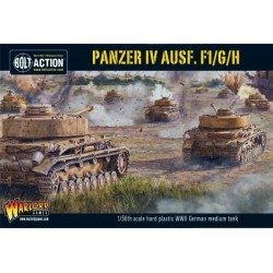 Bolt Action Panzer IV Ausf. F1 G H Medium Tank