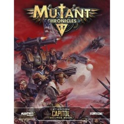 Mutant Chronicles Capitol Guidebook