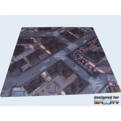 War Game BattleMat 48x48inch Infinity District 5