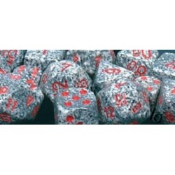 Speckled Polyhedral Ten d10 Sets GraniteW10