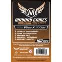 "Mayday Games Premium Magnum Copper Sleeve (80)  65 x 100mm ""7 Wonders"" 7106"