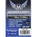 MAyday Games Premium Mini Euro Card Sleeve (50) 45 x 68mm (blau) 7080