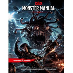 D&D Dungeons and Dragons Monster Manual RPG (Hardcover)
