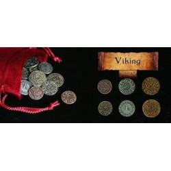Metall Münzen Metal Coins Viking