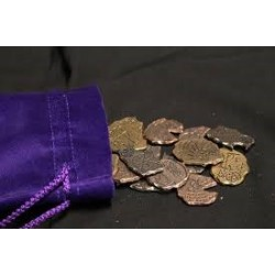 Metall Münzen Metal Coins Necromancer