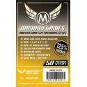 Mayday Games Premium Mini USA Sleeves (50) 41 x 63mm (gelb) -7075