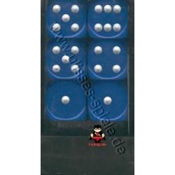 Würfelbox D6 groß blau