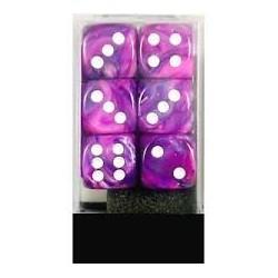 Würfelbox D6 groß purple