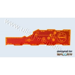 Infinity Range Card CM orange