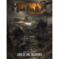 Mutant Year Zero Compendium Lair of the Saurians