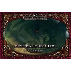 Das schwarze Auge DSA5 Spielkartenset Aventurisches Bestiarium Deluxe