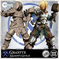 Guild Ball Mason Granite (Season 3)