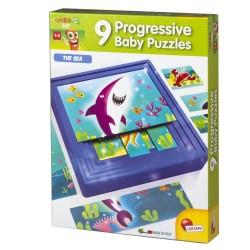 9 Progressive Puzzles The Sea