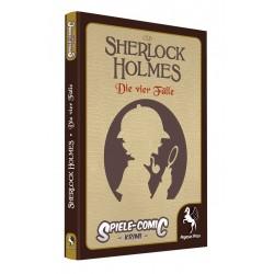 SpieleComic Krimi Sherlock Holmes 1 Die vier Fälle (Hardcover)