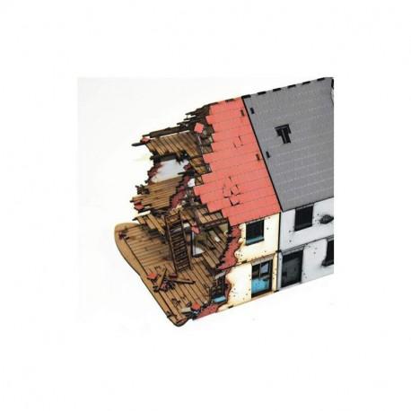 Damaged Left Hand Semi House