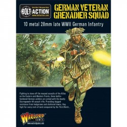 Bolt Action German Veteran Grenadier Squad