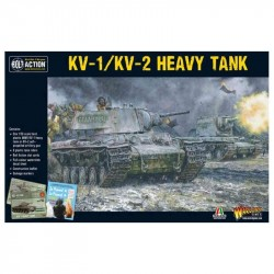 Bolt Action Soviet KV1 KV2 Heavy Tank