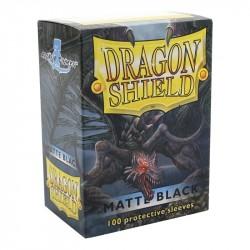 Dragon Shield Matte Schwarz (100 Stück)