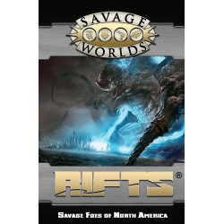 Savage World Rifts Savage Foes of North America