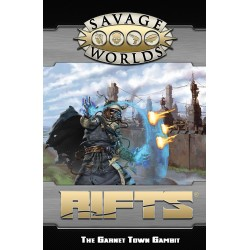 Savage World Rifts GM Screen and Garnet Town Gambit Adventure
