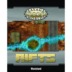 Savage World Rifts Map Wasteland Portal & Ley Line