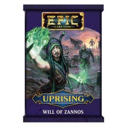 Epic Card Game Uprising Will of Zannos