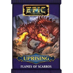 Epic Card Game Uprising Flames of Scarros