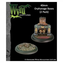 Malifaux Orphanage Bases 40mm