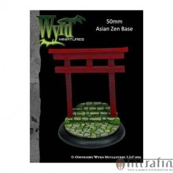 Malifaux Asia Zen 50 mm Bases (1 Pack)