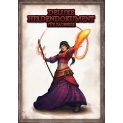 Deluxe Heldendokument für Zauberer