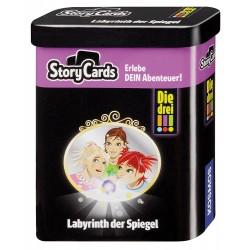 Die drei !!! Labyrinth der Spiegel Story Cards