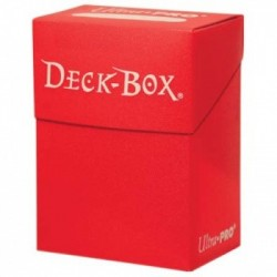 Deck Box Solid rot (red)