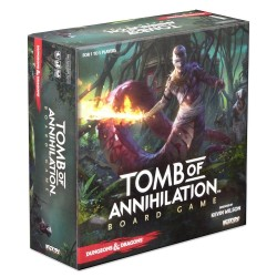 D&D Dungeons and Dragons Tomb of Annihilation Board Game