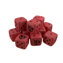 Star Trek Ascendancy Dice Pack Klingon (x10)