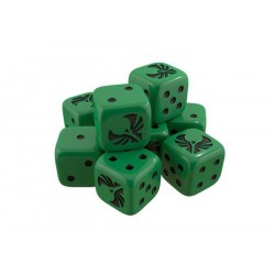 Star Trek Ascendancy Dice Pack Romulan (x9)