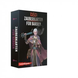 Dungeons and Dragons D&D Zauberkarten für Barden