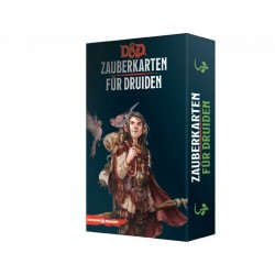 Dungeons and Dragons D&D Zauberkarten für Druiden