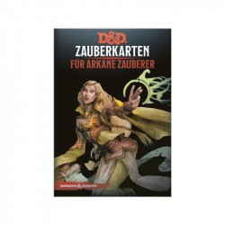 Dungeons and Dragons D&D Zauberkarten für Arkane Zauberer