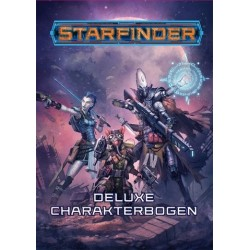 Starfinder Deluxe Charakterbogen