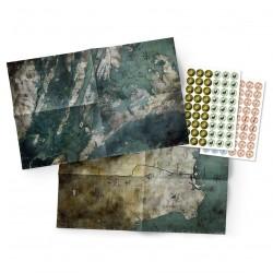 Mutant Jahr Null Landkarten- und Markerpack