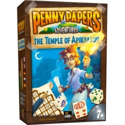 Penny Papers Adventures The Temple of Apikhabou (multilingual)