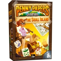 Penny Papers Adventures Skull Island (multilingual)