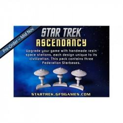 Star Trek Ascendancy Federation starbases